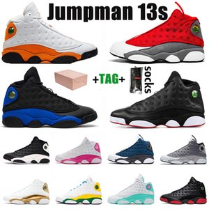 Nike Air Jordan Retro 13 mit Box Stock Jumpman x Top Qualität 13 13s Herren Womens Basketballschuhe Retro Hyper Royal Starfish Sport Sneakers Trainer Größe 13