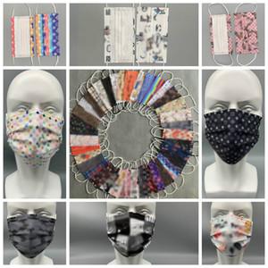 39 Art-Marken-Designer Anti-Staub-Mund-Masken Einweg-Gesichtsmaske Multicolor Staubdichtes Schutz Erwachsener Mann Frau PBT schmelzblasgeformtes Vlies