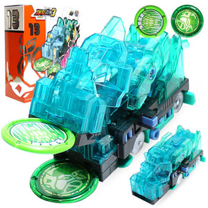 2019 Burst Speed Screechers Wild Deformation Car Action Figures Multiple Chip Capture Wafer 360 Flip Transformation Cars toys 1008