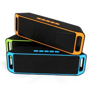 SC208 Bluetooth Speaker Wireless Recharegable Stereo Loudspeakers USB Charging TF Card FM Radio Multifunctional Sound Boombox Free DHL