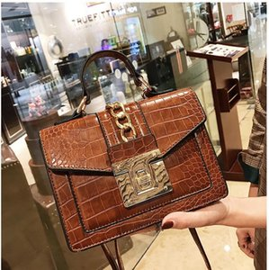 3 colors new Alligator Shoulder Bags Women Designer Chain Handbags Luxury Pu Leatehr Crossbody Bag For Women Small Flap Famale