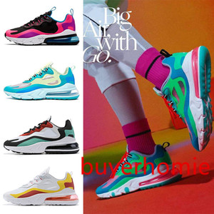 2019 Hyper Jade BAUHAUS React men women running shoes Blue Void Bright Violet Electro Green Pink mens sneakers sports trainers 36-45
