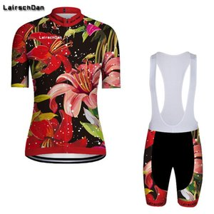 Racing Sets LavsChdan 2021 Велоспорт Джерси Женский цикл Одежда набор дышащих горных велосипедов носить летний велосипед Maillot ROPA Ciclismo Mujer