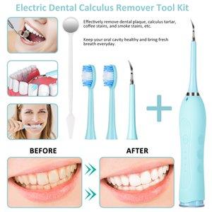 DHL Inicio Uso Higiene oral Higiene de tres velocidades Dental Scaler eléctrico Dental Scaler Hogar portátil Portátil Herramienta de cuidado dental