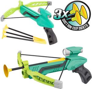 Mini verde o rosa tiro con l'arco con l'arco bersaglio Set, sicuro Schiuma Dart frecce Kids Toy Balestra e Gioco da Esterni - Divertimento progettato per i bambini