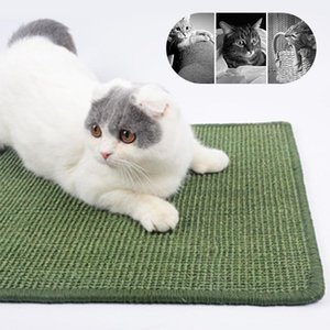 Sisal Cat Scratcher Board Pad Toy Climbing Tree Scratching Mat for cats Protecting furniture Foot Large Size1