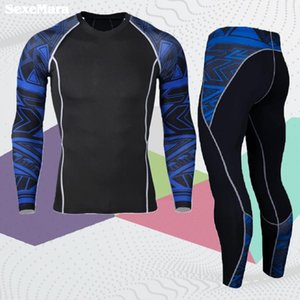 Sportswear Sets Men Compression Cycling Base Layers Joggers Quick Dry Kit Fitness Crossfit Men's Legging Sport Suit