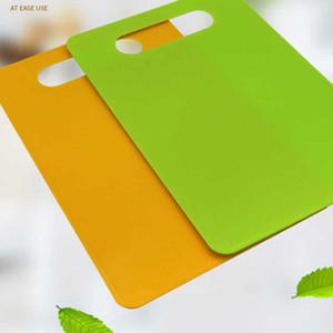 Cucina di plastica Tagliere Cook Forniture Food Tagliere PP Eco-Friendly Block Taglio Taglio Frutta Strumenti di verdure DHD3725