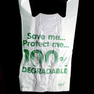 degardable plastic bag