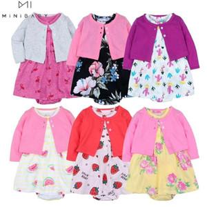 Newborn baby girls clothing cotton Baby Girl summer Clothes Set newborn cute dress for 6-24m 2020 fashion clothing