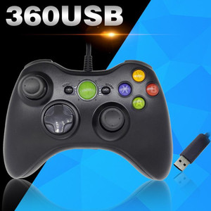 NEW USB Wired Gamepad For Xbox 360 Controller Joystick For Official Microsoft PC Controller Windows 7 8 10