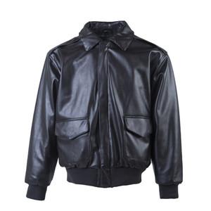 Cuoio di alta qualità tattica militare maschile Giacca Baseball Varsity Collegio cappotto per l'autunno giacca spessa moto uomini uomini sciolti