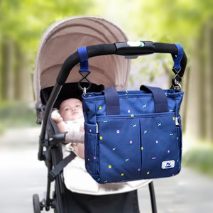 Zipper Nappy Mummy Multi-pocket Nursing Stroller Bag Maternity Shoulder Diaper For Baby 1005 Mother Fashion Handbag Vuuvi Sbtdb