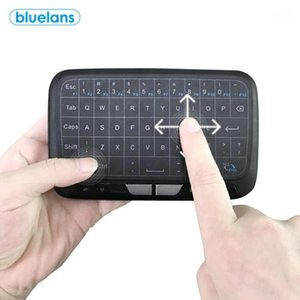 Mechanical Feel Gaming H18 2.4GHz Mini Wireless Touch Keyboard Air Mous Ergonomic for PC Laptop Smart Android TV Keyboard1