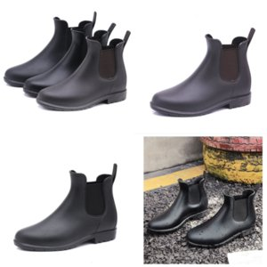 tq80T Womens WinterAnkle Slip Boots Brushed Rois Toes boot Adult Leather Nylon Ladies Boot Removable Keycase Thick Bottom Rain