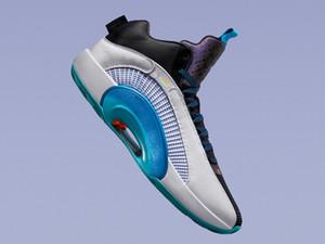 AJ 35 XXXV Morpho Guo Ailun Kids 신발 상자가있는 새로운 Jumpman XXXV SP TP PF 남성 여성 스포츠 신발 크기 4-12