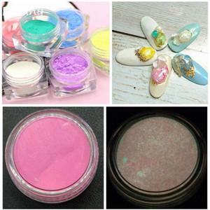 Dofuny Super Bright Glow in the Dark Powder Glow Luminous Pigment Fluorescent Powder For Nail Art Design