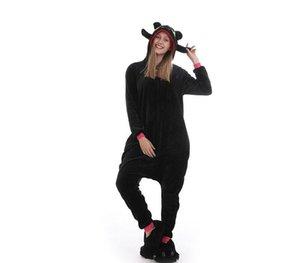 Adulto animale Tutina Pink Rabbit Pigiama costume cosplay Tutina Fancy pijama drago senza denti pigiama Sleepwear onsie99