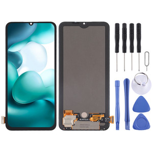 Original AMOLED Material LCD Screen and Digitizer Full Assembly for Xiaomi Mi 10 Lite 5G   Redmi 10X PRO 5G   Redmi 10X 5G