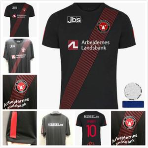 20 21 Midtjylland fútbol de Jersey camisas 2020 2021 SISTO EVANDER MABIL Kraev Onyeka hogar lejos terceros fútbol de primera calidad de Tailandia