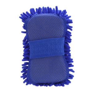 Горячий Новый Microfiber Синель Anthozoan чистки автомобиля Губка Полотенце Ткань Автомойка перчатки автомобиля Washer принадлежности