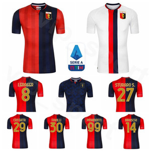 CFC Cricket Gênes 2020 2021 Soccer 4 Criscito Jersey PANDEV SCHONE Pinamonti RADOVANOVIC GHIGLIONE Sturaro ROMERO Pjaca football Kits chemise