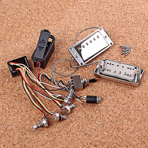 1 Set Guitar Active Pickup ,Electronic Circuit Battery Box & Accessories for LP Guitars