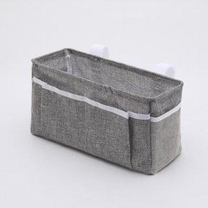 Caixas de armazenamento Caixas de algodão Sundries Sundries Saco Magia Adesivo Fácil Instalar Bedside Interior Acessório Assento Voltar Beliche Dormitório Quartos1