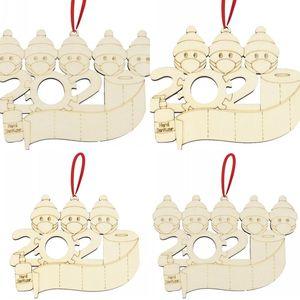 Woodiness Snowman Christmas Tree Pendant Toilet Paper Hand Sanitizer Modelo Christmases Series Detalhes no DIY 2020 3 3jma J2