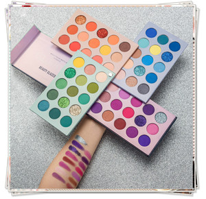 Makeup palette BEAUTY GLAZED Color Board palettes 60 Color with 4 Board COS Stage Pearl Shimmer Matte Eyeshadow Palette