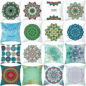 Mandala National style print pillow cover sofa pillow car cushion cover