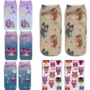 Hbhiv Fashion Socks Comfortable Traspibile Cavo di alta qualità Colore di alta qualità Mesh Vintage Hunter Solid Uomo Personalità Gufo uomo Anti-Attrito Sock