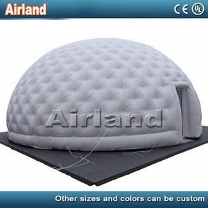 عملاقة مخصصة للنفخ الهواء خيمة قبة، ونفخ في الهواء الطلق خيمة القباني للتخييم / الحدث / معرض