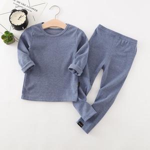 Sleepwear Suit Pajamas Sets For Baby Kids Cotton Boys Autumn Girls Pajamas Long Sleeve Pyjamas Children Clothing Tops Pants 2pcs