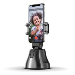 Logo personnalisé 360 Rotation Auto Face Objet Tracking Selfie Stick Smart Shooting Caméra Titulaire de téléphone