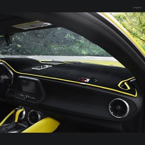 QHCP Interior Dashboard Cover Dashmat Dash Mat Pad Sun Shade Dash Board Cover Teppich für Camaro 2016 20171