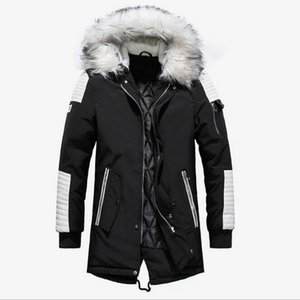 PARKA MENS Fashion Brand Men Wram Parka Casual Coat Winter High Quality Men Hooded Coat Jackets Casual Men's
