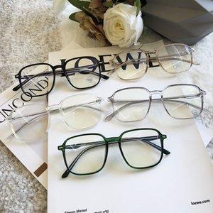 fashion sunglasses brands Anti-blue light anti-radiation goggles for myopia flat light big frame fashion frame for men and women