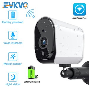 1080P WiFi Camera Battery Powered 2MP HD Outdoor Wireless Security IP Camera Surveillance Weatherproof PIR Alarm Record Audio