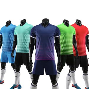 2019 Men's Football Goalkeeper Jersey Kit College Soccer Jerseys Tracksuit Goalie Uniforms Kid's Sports Training Shirts Trousers Sets