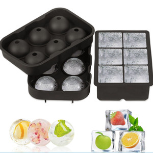 Ice Cube Ball Tray Brick Round Maker Mold Sphere Mould Party Bar Cocktail Ice Silicone Cube Tray Bar Accessories