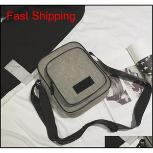New Grey 6 Colors Message Bag Waist Bag Fashion Purse Bags Waterproof Fanny Packs Shoulder Bag Mini In Stock Spyw0
