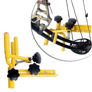 قابل للتعديل قوس الموازي الملزمة دعم موقف منظم على الرماية الصيد التقليدية مجمع القوس 201111