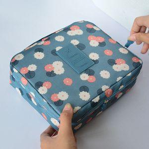 Multifunction Make Up Organizer Toiletry Bag Man Women Makeup Bag Nylon Cosmetic Bag beauty Case Kits Storage Travel Wash Pouch