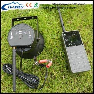 Con control remoto 50W 150dB Speaker Equipo de caza Pájaro MP3 Player Player Pájaro Pájaro Caza de Caza Decoy Duck Goose Caller 20116