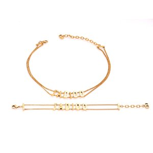 Best-selling Europe and the United States in hot style restoring ancient ways D home letters bracelet female personality choker double