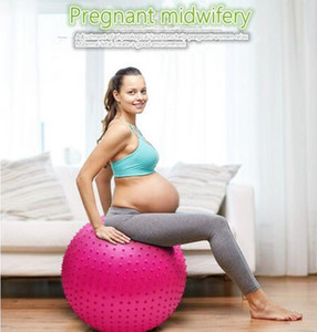 Yoga balance Ball Thick Pregnant women Proof Massage ball Bouncing Gym Exercise Yoga fitness Anti-Burst Thick Explosion Proof indoor sport