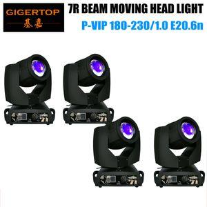 Tiptop 4xlot 230W Sharpy 7r Beam Moving Head Light / Osram 7r 230W del fascio luce capa commovente / Clay Paky Sharpy Beam Moving Head Light