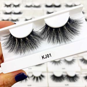 Wholesale 10 pairs 3D Mink Lashes Natural False Eyelashes Dramatic Volume Fake Lashes Makeup Eyelash Extension Silk Eyelashes