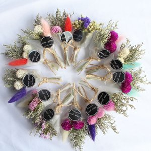 Dry Flower Mini Bouquet Artificial Grass Crystal For Valentine's Day Christmas Gift Decor Making Girls Photography Prop Korean